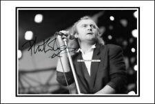 Phil Collins, Autographed, Cotton Canvas Image. Limited Edition (PC-400) x
