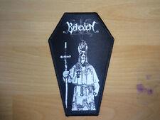 Behexen Coffin Patch Shape Black Metal Taake