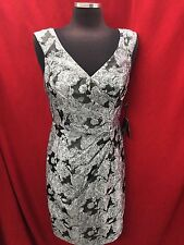 ADRIANNA PAPELL DRESS/NEW WITH TAG/RETAIL$149/SIZE 14/LINED/