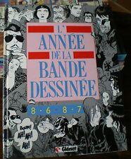 L'année de la BD 86-87 - Cahiers de la BD 3 - Nombreux auteurs et illustrations