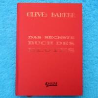 DAS SECHSTE BUCH DES BLUTES Clive Barker Edition Phantasia 1991 limitiert 250