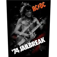 AC/DC '74 Jailbreak Back Patch Official AC-DC Rock Band Backpatch ACDC New