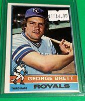 🔥 1976 Topps Baseball Card Set #19 Kansas City ROYALS 🔥 GEORGE BRETT 2nd Year