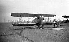8x10 Print Aircraft Bi Plane Boston Airport 1929 #45681