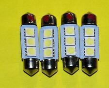 Triumph GT6 innen / Nummer PL LED Glühbirnen, Ersatz 239/254 Füller Glühbirnen