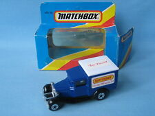 Matchbox MB-38 Ford Model A Van On The Move Rare Issue