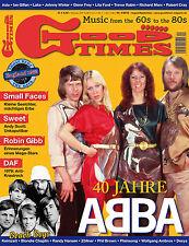 GoodTimes 4-2012 Abba, Robin Gibb, DAF, Sweet, Small Faces, Beach Boys, Asia ...