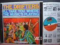 the drifters i'll take you where the music's playing vinyl lp soul