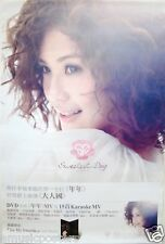 """CHARLENE CHOI """"SWEETEST DAY"""" HONG KONG POSTER -Cantopop"""