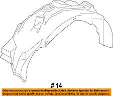FORD OEM 17-18 F-150-Fender Liner Right HL3Z16102B