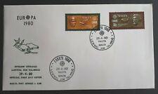 1980 Malta Stamp FDC - Europa 1980  - 29/4/80 - Unaddressed