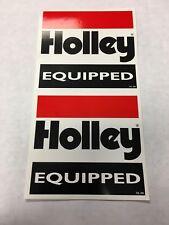 2 Pack Holley Carburteor Sticker Decal NHRA Nascar Racing Vintage Drag Race Hot