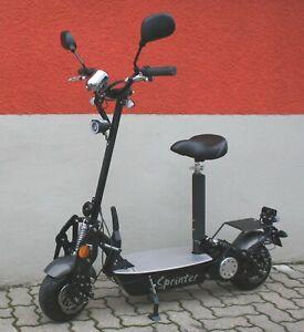 Sprinter 500, 20 Km/h, 36 Volt, helmfrei, klappbar, Zulassung,