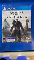 Assassin's Creed Valhalla For PS4 - (NEW - Factory Sealed)-!!