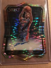 Michael Gbinije 2016-17 Select Die-Cut Rookie Autographs Pulsar Pistons 78/99