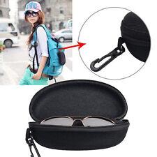 Etui à lunettes de soleil vue housse boîte rangement noir femme sunglasses case