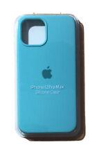 Apple Silicone Cover per Apple iPhone 12 Pro Max- Verdeacqua.