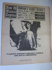 NME 3/9/68 Donovan  Jeff Beck Beatles Move Status Quo Peter Frampton