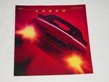 NOS 1986 Chrysler Laser Color Car Automobile Brochure MINT Condition