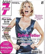 TELE 7 JOURS N°2951 17/12/2016  TELLIER_E.MITCHELL_PLUS BELLE LA VIE_MISS FRANCE