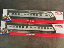 Piko 57653 + 57651, Nahverkehrswagen, H0, DC mit OVP