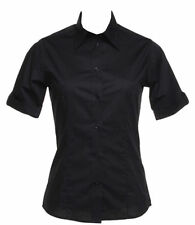 Waist Length Collared Formal Tops & Shirts for Women