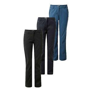 Womens Craghoppers Kiwi Pro Stretch Casual Walking Golf Trousers CWJ1202 RRP £70