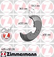 Bremstrommel COAT Z - Zimmermann 405.4101.20