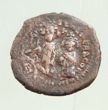Heraclius with Heraclius Constantine 610-641. Æ Follis 30mm 10,5g.