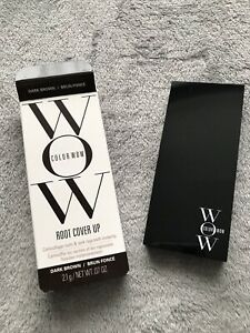 Color Wow Root Cover Up - Dark Brown, Brand New 2.1g