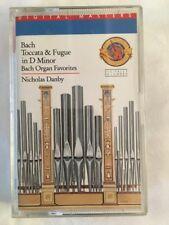 Nicolas Danby - Bach Tocatta & Fugue in D minor - Classical Cassette Tape (C124)
