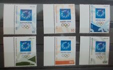 The Olympic Games: Athens 2004 11/7/2000 Mnh