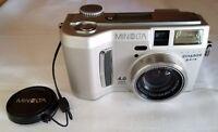 Konica Minolta DiMAGE S414 4.0MP Digital Camera - Silver *GOOD*