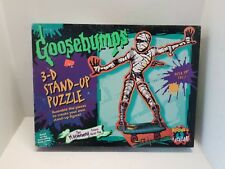 New & Sealed Rare 1996 Goosebumps 3-D Stand-Up Puzzle The Mummy Prince Khor-Ru