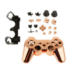 Orange-Chrome Protective Controller Joystick Shell Case for Sony PS3 Game