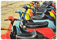 Ansichtskarte: Vespa - Parade - Motorroller