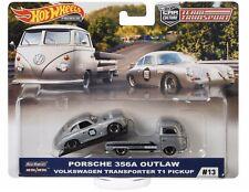 Hot Wheels Team Transport Porsche 356A Outlaw Volkswagen Pickup