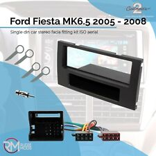 Ford Fiesta 2005-2008 Double Din Stereo Facia Fitting Kit 24FD56 SILVER