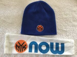 New York Knicks NBA Adidas Blue Hat Headband NYK Shooting Sleeves Lot of 4