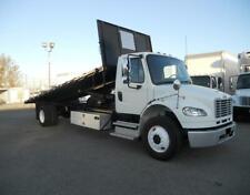 2013 Freightliner 24Ft Flatbed Dump Truck Cummins International Gmc Peterbilt Ke