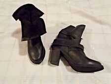 Jeffrey Campbell Med (1 in. to 2 3/4 in.) Ankle Boots Leather ...