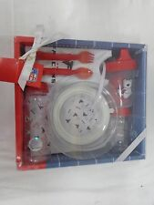 Atlanta Falcons Football Baby Bottle Toddler Dishes Silverware Bib Gift Set
