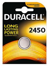 duracell lithium based cr2450 single use batteries ebay rh ebay com