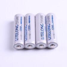 4PCS LiFePO4 14500 AA 3.2V 1200mAh Rechargeable 14500 Batteries Battery wholesal