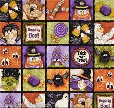 Boo bambini sostanza sostanze Halloween Patchwork sostanze Patchwork streghe FANTASMI Bambini