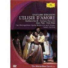 Battle/Pavarotti/Levine/Moo-L 'ELISIR d ' amore DVD NUOVO