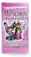 Munchkin SJG4243 Princesses (Expansion Pack) 15 Cards Fantasy Fairy Tale NIB