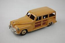 "Dinky #334 Plymouth Estate Car 4 1/8"" Long  1954-1961 England Good Original"