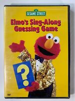 Sesame Street - Elmo's Sing-Along Guessing Game (DVD, 2003) New & Sealed Genuine