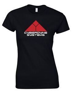 Cyberdyne Systems Terminator Movie inspired Retro Womens T-Shirt